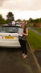 LUCY HALL passed with Simon Hartley Driver Training
