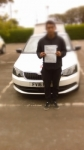 CHAMP THONGPIA passed with Simon Hartley Driver Training