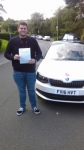TOM MOATE passed with Simon Hartley Driver Training