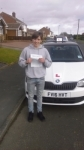 JORDAN ELLIS passed with Simon Hartley Driver Training