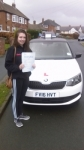 LYDIA HODGETTS passed with Simon Hartley Driver Training