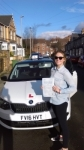 CLAUDIA JENKINS passed with Simon Hartley Driver Training