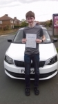 BEN MARSH passed with Simon Hartley Driver Training