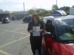 SHARON passed with Simon Hartley Driver Training
