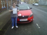 JADE GRAY passed with Simon Hartley Driver Training