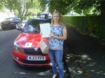 HOLLY ILETT passed with Simon Hartley Driver Training
