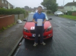 AARON TODD passed with Simon Hartley Driver Training