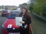 KATIE WARDMAN passed with Simon Hartley Driver Training