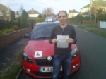 JAMES SWEETLOVE passed with Simon Hartley Driver Training