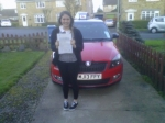 KIRSTIE YOUNG passed with Simon Hartley Driver Training