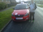 JORDAN LYON passed with Simon Hartley Driver Training