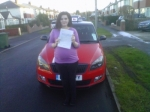 SCARLETT INMAN passed with Simon Hartley Driver Training