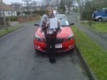 JODIE NORTH passed with Simon Hartley Driver Training