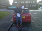 LIAM BARKER passed with Simon Hartley Driver Training