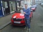 LEON BATTLE passed with Simon Hartley Driver Training