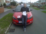 LIAM S passed with Simon Hartley Driver Training