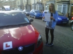 ELEANOR CALVERT passed with Simon Hartley Driver Training