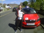JAMES SWALES passed with Simon Hartley Driver Training