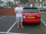 CAMERON JOHNSON passed with Simon Hartley Driver Training