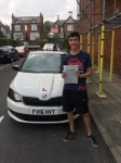ADAM FEWSTER NOBLE passed with Simon Hartley Driver Training