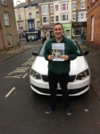 JAMES BROXUP passed with Simon Hartley Driver Training