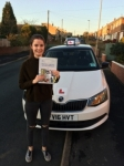 HANNAH CLARKE passed with Simon Hartley Driver Training