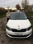 CALVIN MITCHELL passed with Simon Hartley Driver Training