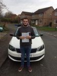 DECLAN BARKER passed with Simon Hartley Driver Training