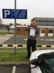 JAMIE HARTLEY passed with Simon Hartley Driver Training