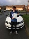 ASHLEY DAWSON passed with Simon Hartley Driver Training