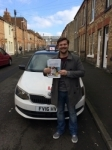 JAMIE EVANS passed with Simon Hartley Driver Training