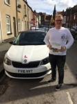 JOE PATTISON passed with Simon Hartley Driver Training