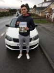 ROBBIE GILL passed with Simon Hartley Driver Training