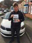MATTHEW PEDLEY passed with Simon Hartley Driver Training