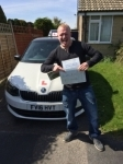 TONY HALL passed with Simon Hartley Driver Training