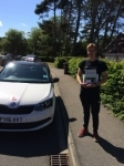 OSCAR TYLER passed with Simon Hartley Driver Training