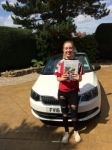 EMMA KIRBY passed with Simon Hartley Driver Training