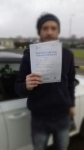 JAMES HICKEY passed with Simon Hartley Driver Training