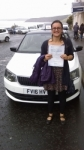 SAMANTHA CHATERJAI passed with Simon Hartley Driver Training