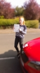 ELLE SUDABY passed with Simon Hartley Driver Training