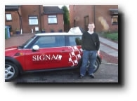 I had lessons with another company and felt that I was getting nowhere. I changed to Signal School of Motoring and Joe explained things more clearly, helping me to pass first time.  Thanks Joe!...