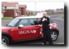 Abi passed with Signal School of Motoring