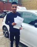 Mohammed Abdul Wadud passed with SKY DRIVING SCHOOL