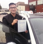 Shahil Amin Islam passed with SKY DRIVING SCHOOL