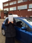 Humayra Siddiqi passed with SKY DRIVING SCHOOL