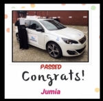 Jumia passed with SKY DRIVING SCHOOL