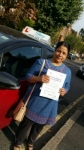 Khin May Than passed with SKY DRIVING SCHOOL