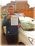 Tanvir passed with SKY DRIVING SCHOOL