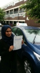 Hazara passed with SKY DRIVING SCHOOL