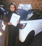 Zee passed with SKY DRIVING SCHOOL
